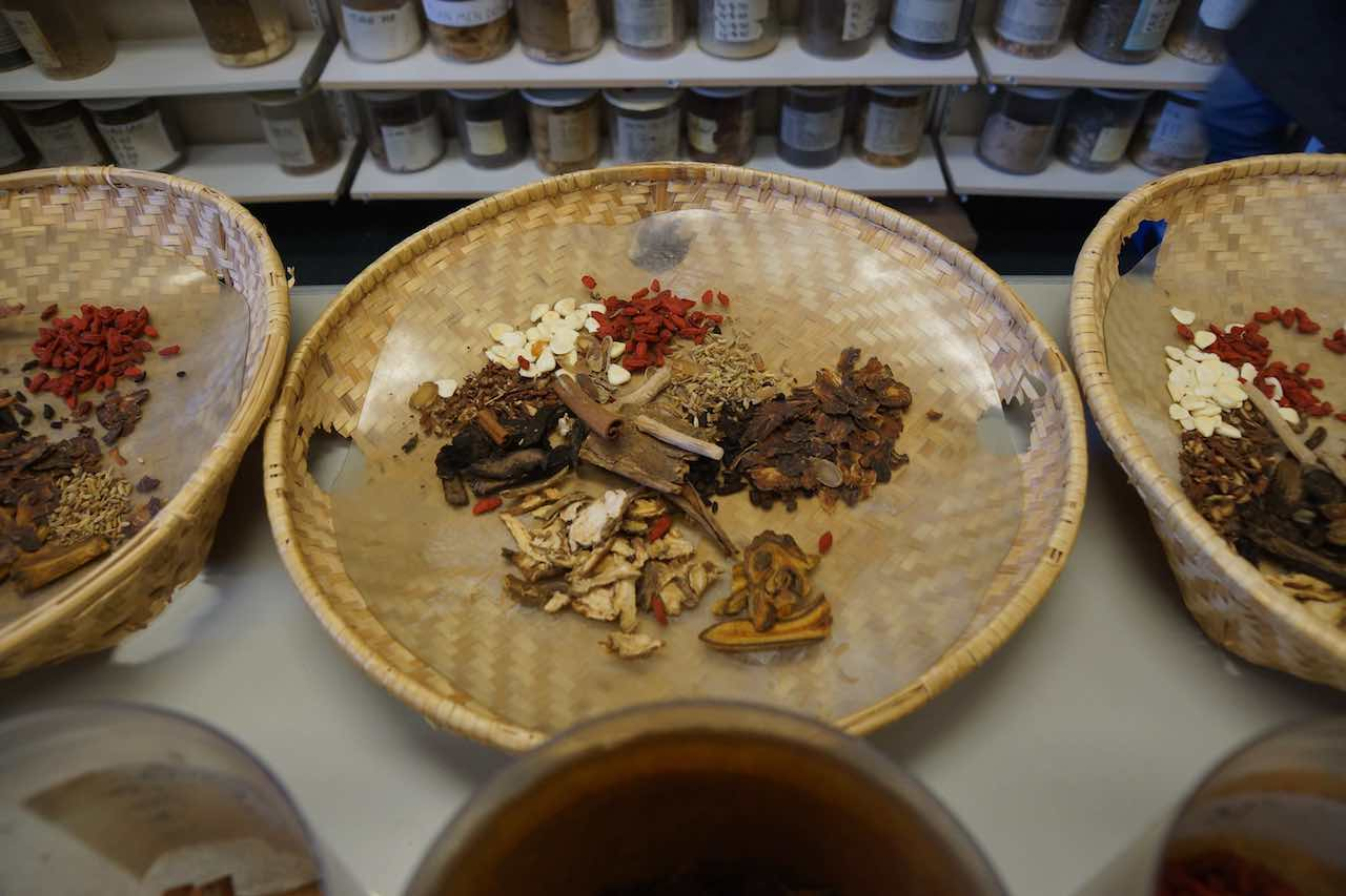 Treatment in Chinese herbal gynaecology